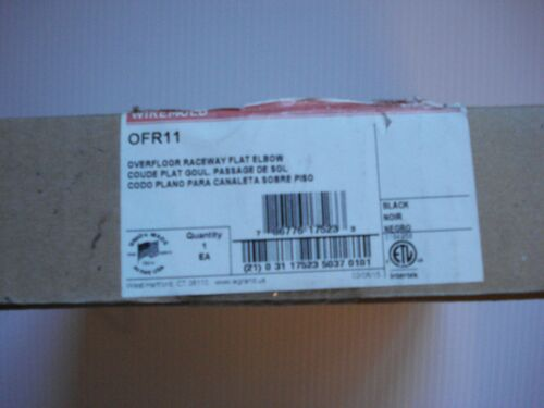 Legrand - Wiremold OFR Series Flat Elbow   (Model # OFR11)