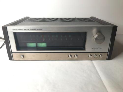 Kenwood KT-4005 AM / FM Tuner Works! Vintage