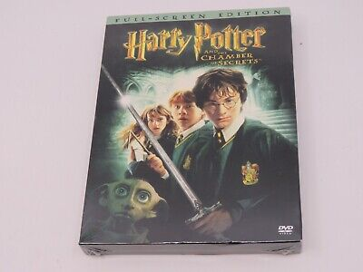 Harry Potter and the Chamber of Secrets (DVD, 2003, 2-Disc Set, Full Screen)