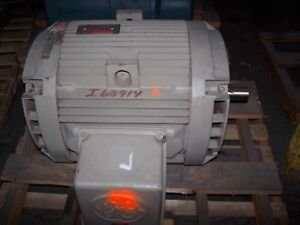 New ge 100 hp ac electric motor 404ts frame 230 460 vac for 100 hp dc motor