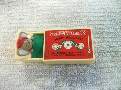 1984 Hallmark Merry Minature Mouse