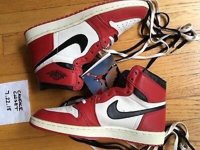 Vintage Nike Air Jordan Shoes 1985 mens size 11.5