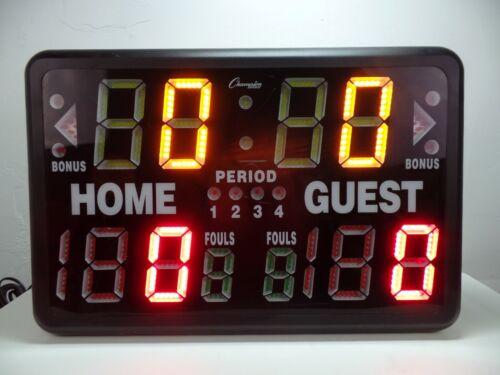 Champion Sports T90 Electronic Scoreboard and Timer , Multi Sports