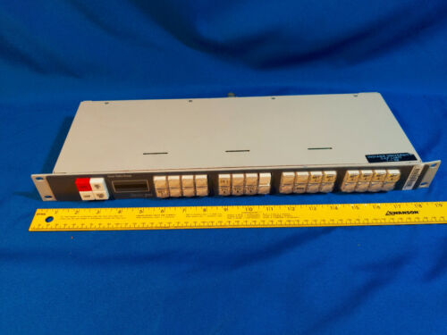 Grass Valley Series 7000 SMS 7000 EDP Control Panel Video VCR VTG