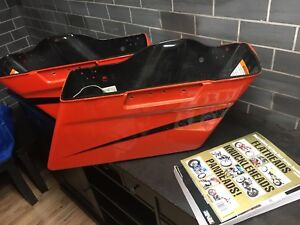 Harley road glide saddle bags