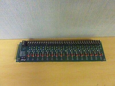 Elox Gordos Arkansas Pb-16 Io Relay Board 15341