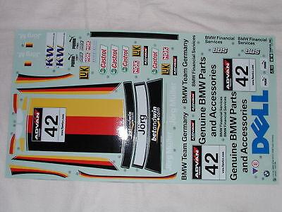 Tamiya 1/10 RC - Sticker for BMW 320Si WTCC Sponsor only - New