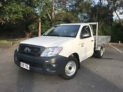 2011 Toyota Hilux Workmate 4x2 Manual Ashmore Gold Coast City Preview