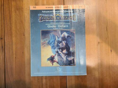 Vintage TSR Advanced Dungeons & Dragons Under Illefarn Module N5, Complete!