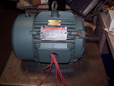 Reliance 2 Hp Ac Electric Motor 460 Vac 182t Frame 1740 Rpm Tefc 3 Phase