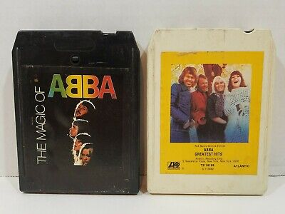 ABBA Lot Of 8-Track Tapes (Greatest Hits, Magic) Untested