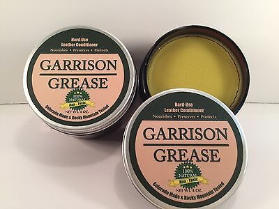 Garrison Grease: Hard-Use Leather Conditioner