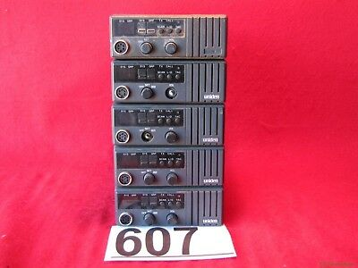 Lot Of 5 Uniden Mobile Radios Sms 825ts Sms825ts 607