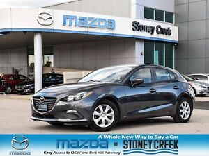 2015 Mazda Mazda3 GX Push Start Accident free Keyless A/C