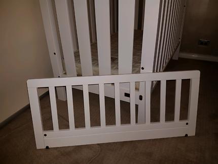 Boori Classic Cot Bed Mattress Toddler Guard Rail