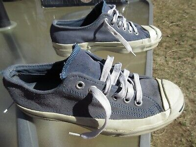 Used, CONVERSE Jack Purcell Leather Sneaker / Made in USA / US M 4.5 W 6.5 / Pre-owned for sale  Bethel