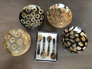 India Bowls and Spoons set