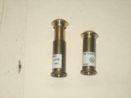 Fire Door Viewer (Peep Hole) Brass Lot of 2