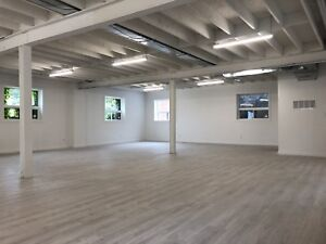 Newly Renovated Office/Studio Space for Lease South Etobicoke