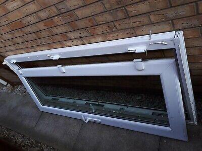 Used Upvc door and frame low aluminium threshold 2 keys toughend double glazed