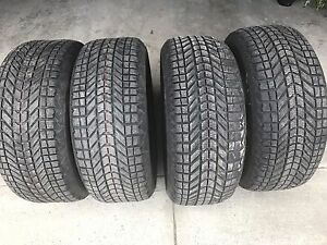 Brand new radial tire 98%