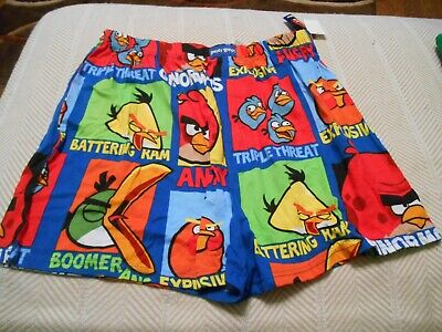 NEW Angry Birds Boxer Shorts Large, -