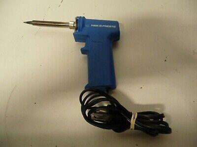 Hakko 981 Presto Pistol Style Dual Power Soldering Iron 120v 20w 130w
