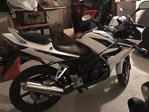 Honda 125CC bike
