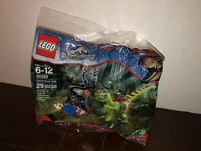 LEGO Jurassic Park World 30320 Gallimimus Trap New In Polybag Bag New