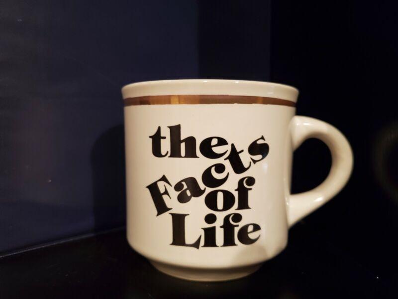 Charlotte Rae signature Facts of Life coffee mug (her Christmas gift)