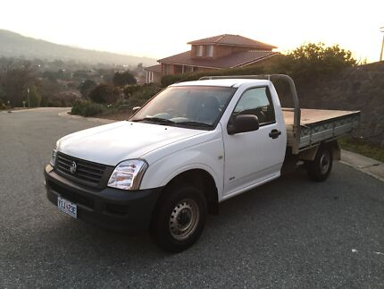 2003 Holden Rodeo Ute (dual fuel) City North Canberra Preview