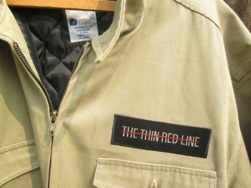 THE THIN RED LINE Vintage WWII Rangers 1998 Film Crew Jacket SEAN PENN