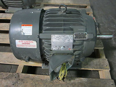 Emerson Us Motor H15p2b 15 Hp 1775 Rpm 3 Ph Hostile Duty Motor 254t Fr 230460 V
