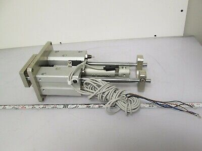 Smc Mgglf20-125-xc18 Linear Transfer Unit Wauto Switches 20mm Bore 125mm Stroke