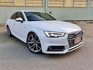 MY17 AUDI A4 QUATTRO S-LINE** HEAVILY OPTIONED!! TURBO UPGRADE BY AUDI. QUICK CAR!! IMMACULATE Camira Ipswich City Preview