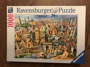 1000p puzzle - Ravensburger (world landmarks)