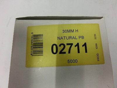 5.000 T-End Fäden 30mm Nylon Kunststofffäden für Heftpistole Heftfäden