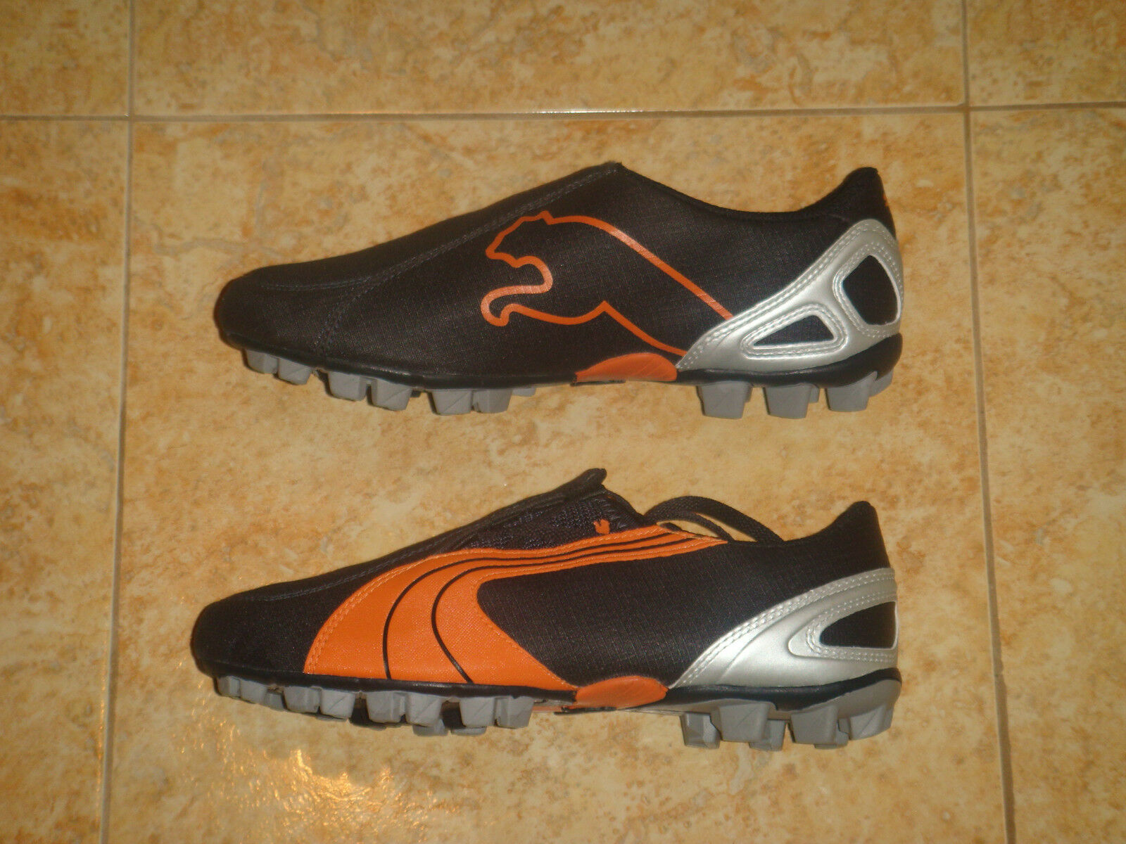Puma Soccer Boots Boys V 5.06 Football Hard Ground Kids Shoe