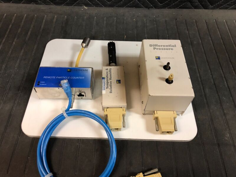 Lighthouse Remote Particle Counter, Temp & Relative Humidity + Diff Pressure