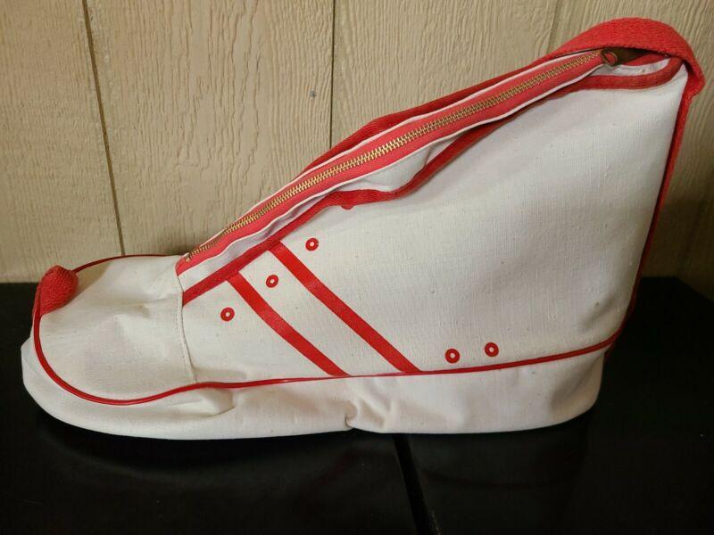 Vintage Shoe Shaped Tote Bag