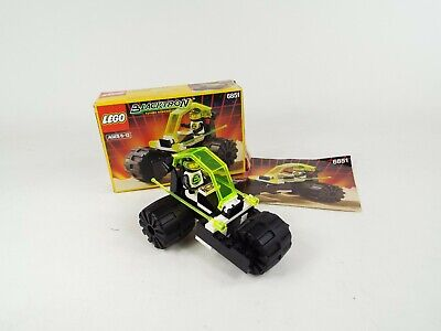Vintage Lego Space Blacktron Tri-Wheeled Tyrax Set 6851 Complete Box Instruction