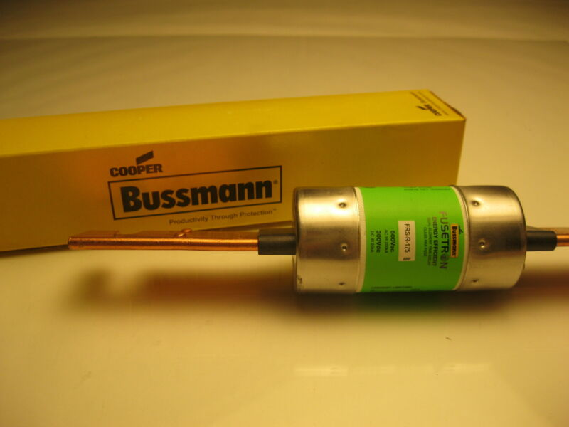 FRS-R-175 BUSSMANN FUSETRON FUSE ENERGY EFFICIENT NEW IN BOX
