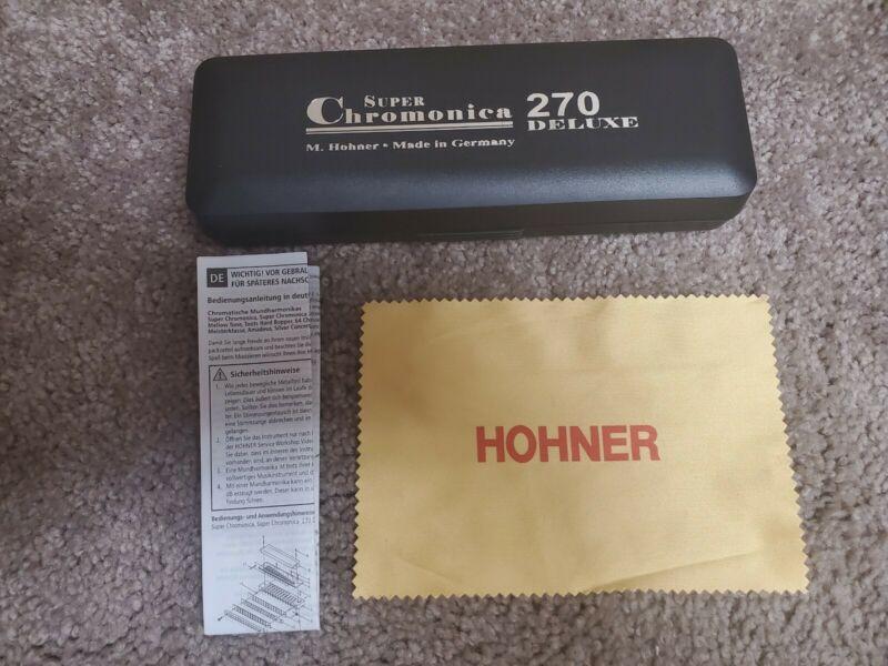 Harmonica Chormatique Hohner Super Chromonica 270 Deluxe C
