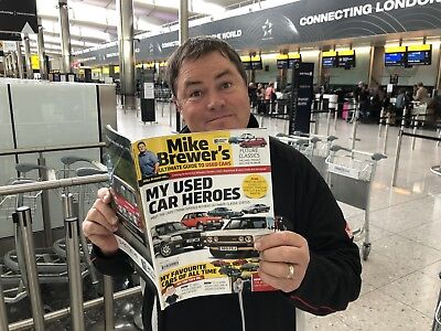 SIGNED Mike Brewer Ultimate Guide To Used Cars Bookazine OFFICIAL SELLER