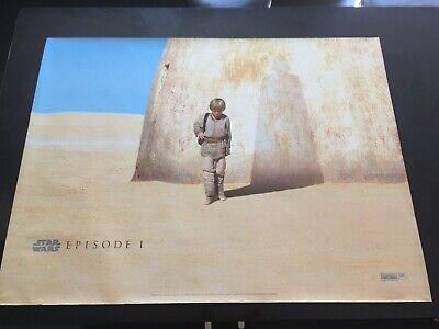 star wars episode 1  - Original 1999 - Teaser UK Quad - NO RESERVE