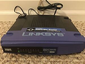 Linksys 8 Port Cable DSL Router/Switch