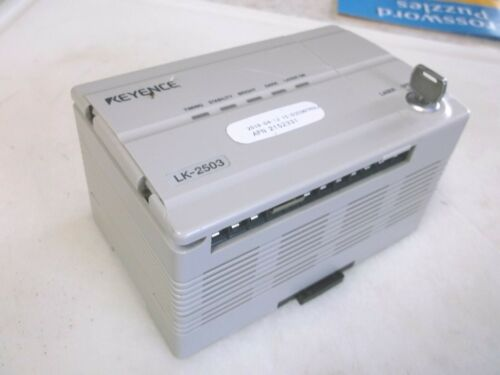 Keyence LK-2503 Laser Displacement Positioning Sensor Controller