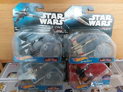 Star Wars Hot Wheels Starships X-wing Bundle X4 Job Lot