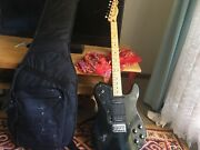Squire Fender telecaster DOUBLE HUMBUker with the guitar case Byron Bay Byron Area Preview