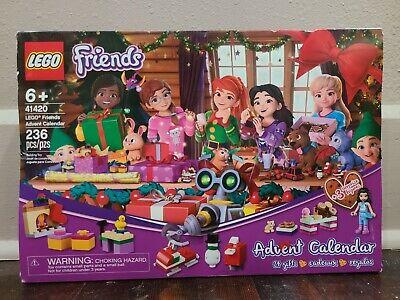 New 2020 LEGO Friends Advent Calendar, Nativity Calendar 41420 236 Pcs